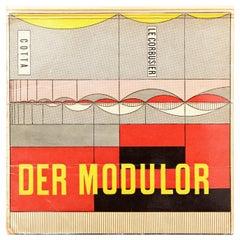 Le Corbusier Der Modulor Book, 1956