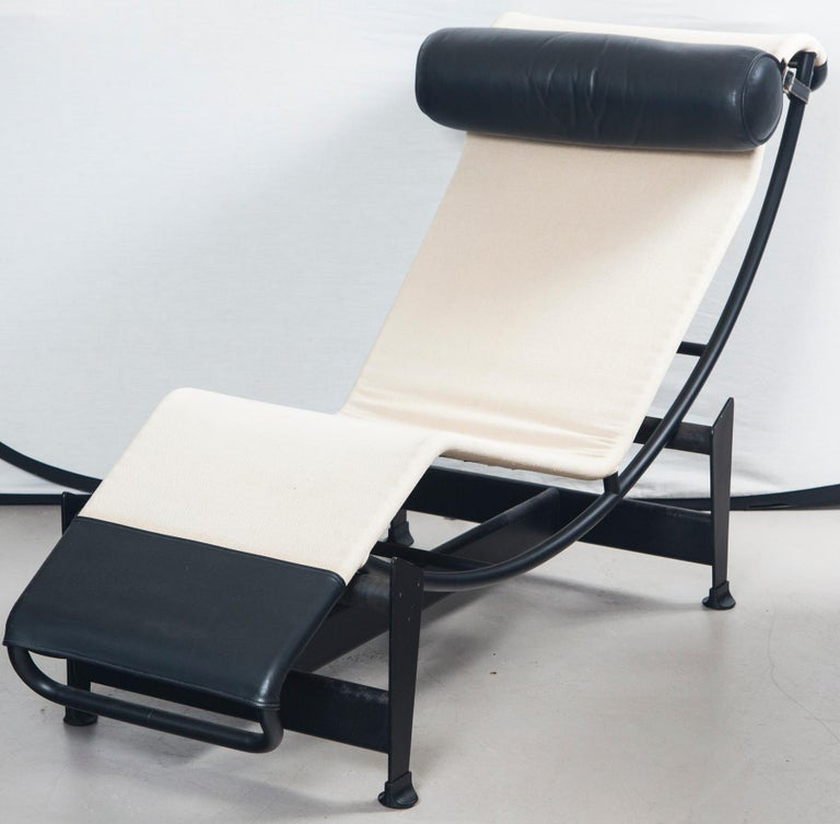 20th Century Le Corbusier, Jeanneret and Charlotte Perriand LC4 Chaise Lounge For Sale