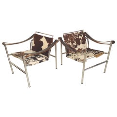 Le Corbusier LC1 Cow Skin Chairs