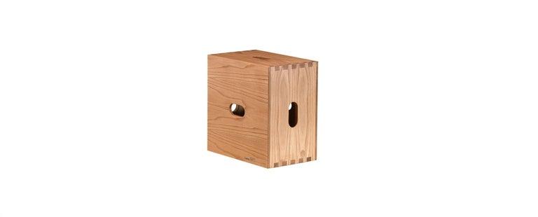 Wood Le Corbusier LC16 Desk and Shelve with Maison du Brésil and Cabanon Stools Set For Sale