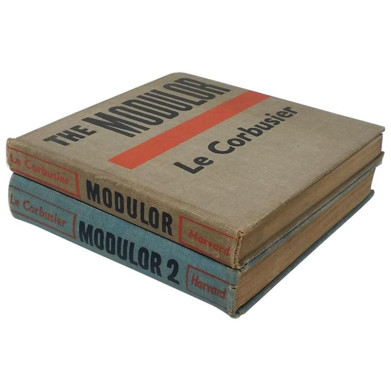"""Le Corbusier: Modulor & Modulor 2"" Books For Sale"