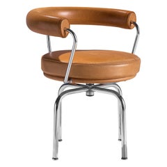 Le Corbusier, Perriand and Jeanneret LC7 Swivel Chair for Cassina