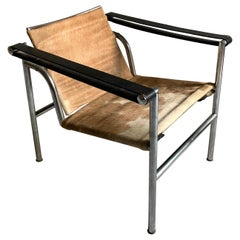 """Le Corbusier Pierre Jeanneret Charlotte Perriand """"LC1"""" Armchair, 1960s"""
