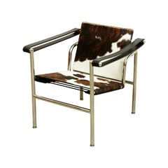 Le Corbusier, Pierre Jeanneret, Charlotte Perriand LC1 Pony Skin Lounge Chair