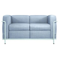 Le Corbusier, Pierre Jeanneret, Charlotte Perriand LC2 Two-Seat Sofa