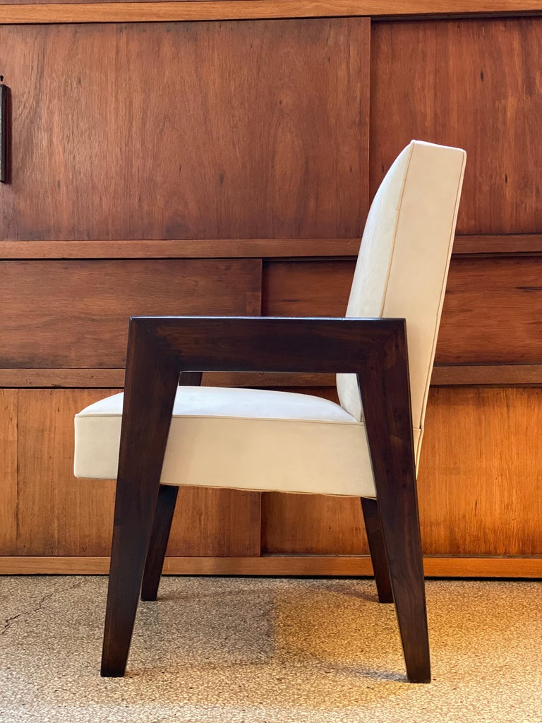Le Corbusier & Pierre Jeanneret, LC/PJ-SI-41-B, Advocate and Press Chair For Sale 3