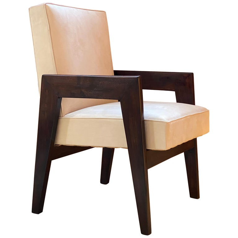 Le Corbusier & Pierre Jeanneret, LC/PJ-SI-41-B, Advocate and Press Chair For Sale