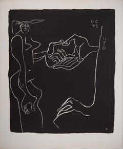 Friendship - Original lithograph (Atelier Michel Cassé), 1964