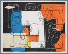 Le Corbusier – Bouteilles, lithograph, hand-signed and numbered