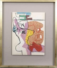 """Le Corbusier: """"Le Poème de L'Angle Droit"""". Original lithograph."""