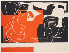 Le Corbusier – Les dés sont jetés, lithograph, hand-signed and numbered