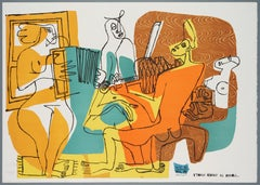 Le Corbusier – Les Musiciennes, lithograph, hand-signed and numbered