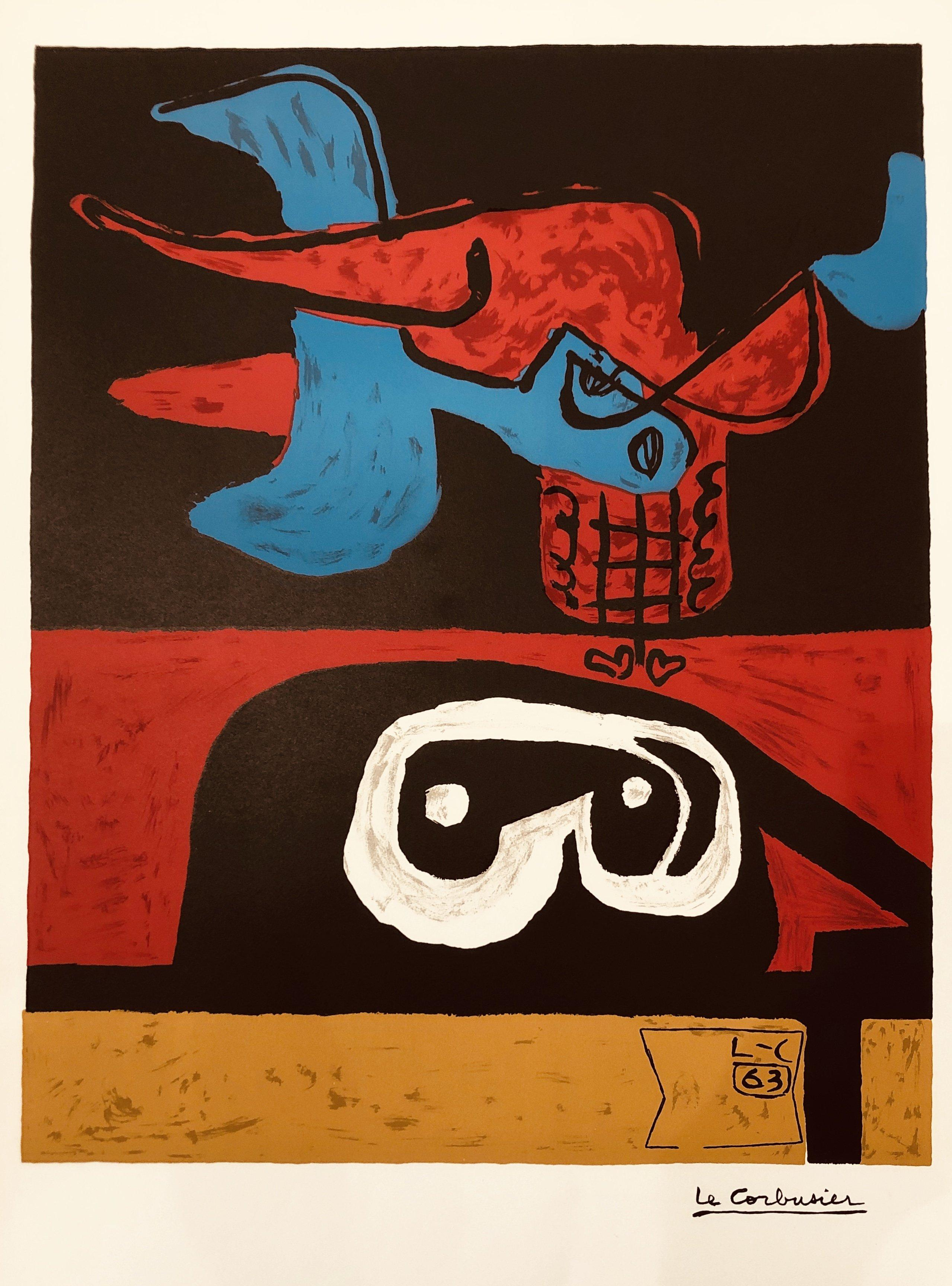 Otherworldly by Le Corbusier (1963) - modern lithograph