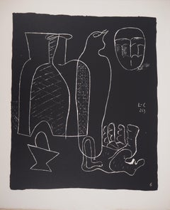 Still Life with Hand - Original lithograph (Atelier Michel Cassé), 1964