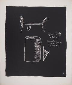 The Architect's Tools - Original lithograph (Atelier Michel Cassé), 1964