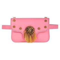 Le Deff mini pink fanny pack belt bag NWOT