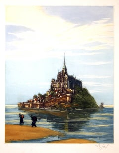 Le Mont St. Michel, Normandy, France