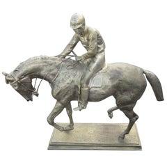 Le Grande Jockey, Isidore-Jules Bonheur Replica Bronze Sculpture