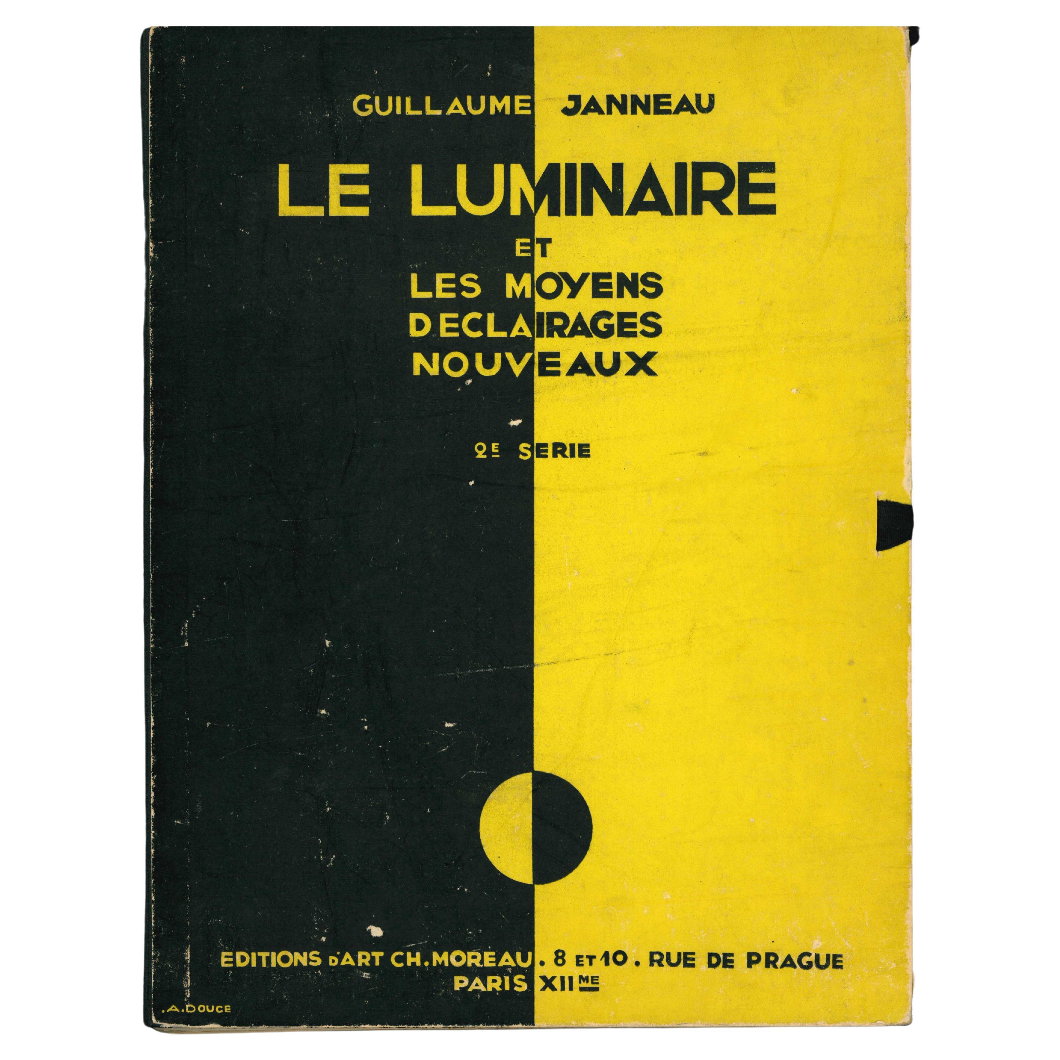 LE LUMINAIRE ET MOYENS DECLAIRAGES NOUVEAU by G. Janneau, Art Deco Lighting