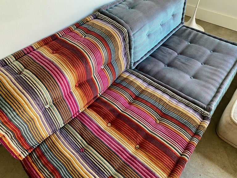 Le Mah Jong Modular Gaultier Missoni Lounge Chair, Roche Bobois, 2014 In Good Condition For Sale In St. Louis, MO