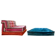 Le Mah Jong Modular Sofa Element Set, Missoni Lounge Chair, Roche Bobois, 2014
