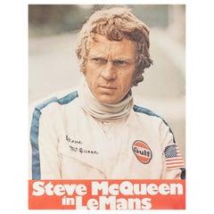 'Le Mans' 1971 German A1 Film Poster