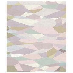Le Marais Au Petit Matin Wool and Silk 10 x 13ft Rug