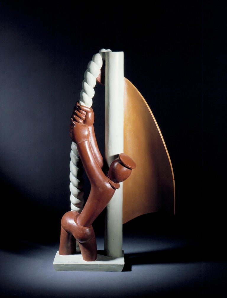 European Le Marin, Bronze by Jean Lambert-Rucki, 1932 For Sale
