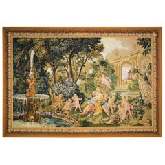 """Le Printemps From the Series """"Les Enfants Jardiniers"""" Tapestry"""
