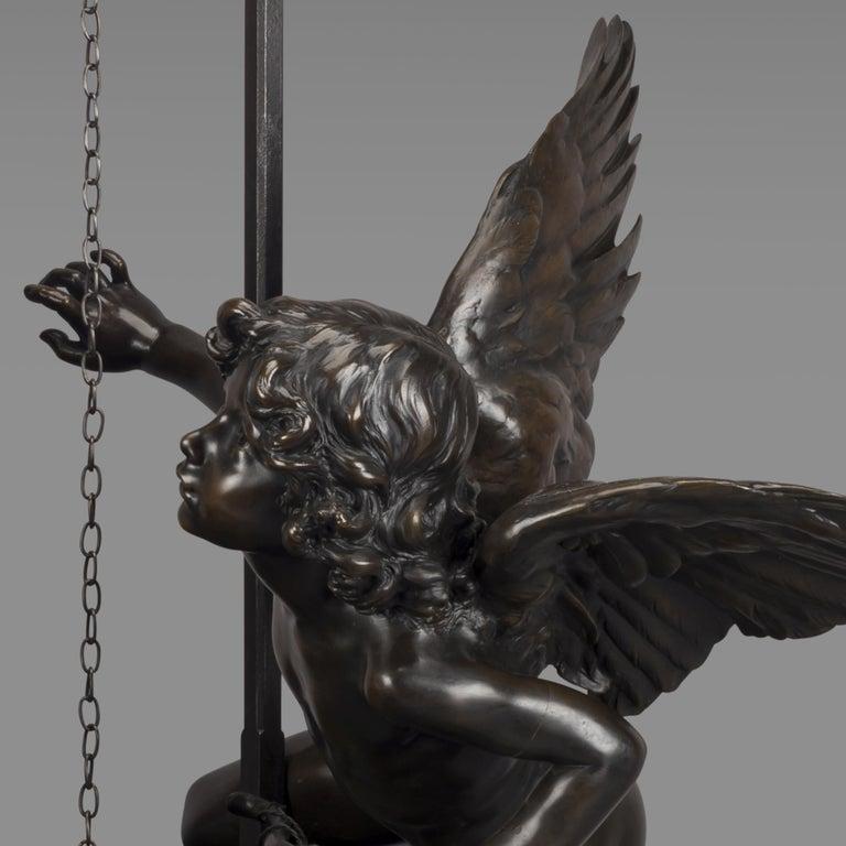 20th Century 'Le Puits Qui Parle' an Exhibition Bronze, Paul Eugène Mengin French, circa 1900 For Sale