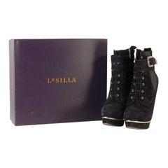 Le Silla Platform Ankle Boots Size 38