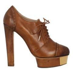 Le Silla Woman Ankle boots Camel Color Leather IT 39