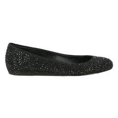 Le Silla Woman Ballet flats Black Leather IT 35