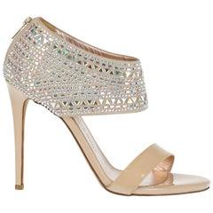 Le Silla Woman Sandals Beige Leather IT 39