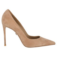 Le Silla Women  Pumps Beige Leather IT 37