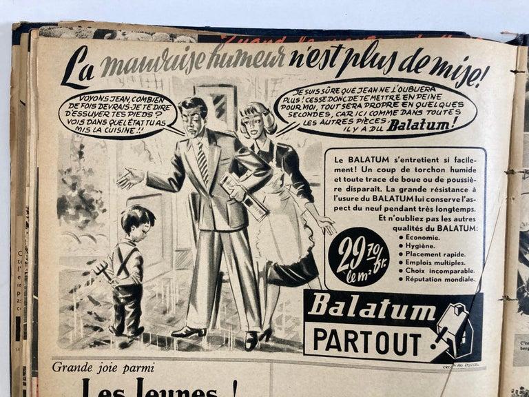 Le Soir Illustre, Mai 1949 to Sept 1949 French Magazines Paris France For Sale 7