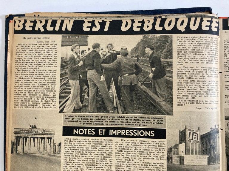 Le Soir Illustre, Mai 1949 to Sept 1949 French Magazines Paris France For Sale 1