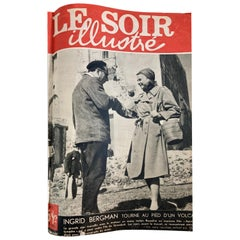 Le Soir Illustre, Mai 1949 to Sept 1949 French Magazines Paris France
