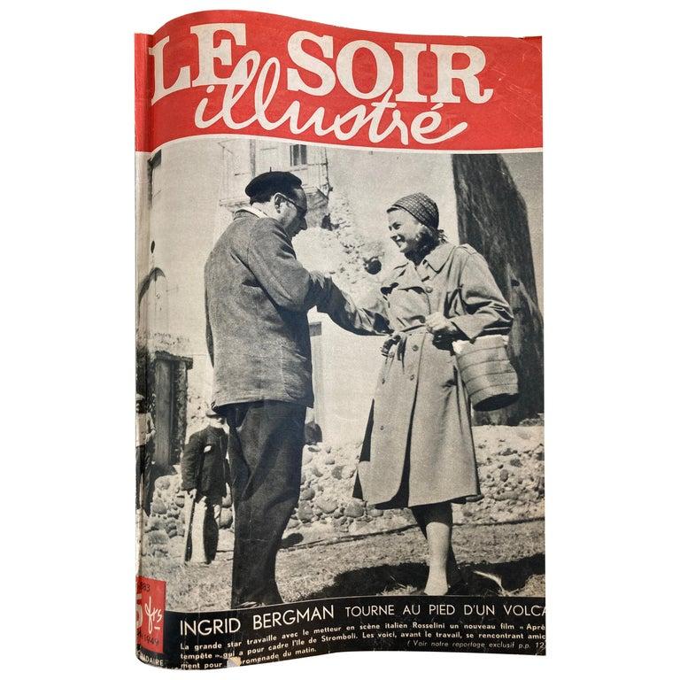 Le Soir Illustre, Mai 1949 to Sept 1949 French Magazines Paris France For Sale