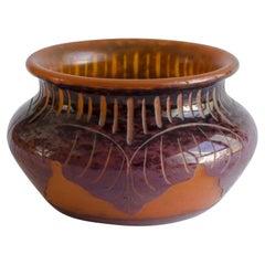 Le Verre Francais Vase Art Deco