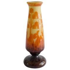 Le Verre Francais Vase Glass