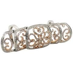 Le Vian 2.5 Carat White Diamond Knuckle Ring