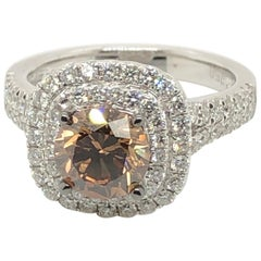 Le Vian Couture 1.5 Carat Chocolate Diamond White Gold Ring