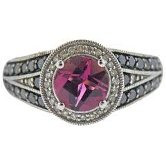 Le Vian LeVian Gold Diamond 1.20 Carat Pink Tourmaline Ring