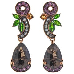 Le Vian LeVian Gold Quartz Gemstone Earrings