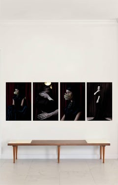 Occult Games Series, 2015, Small Polyptych Archival Pigment Print