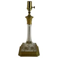 Lead Crystal Lamp