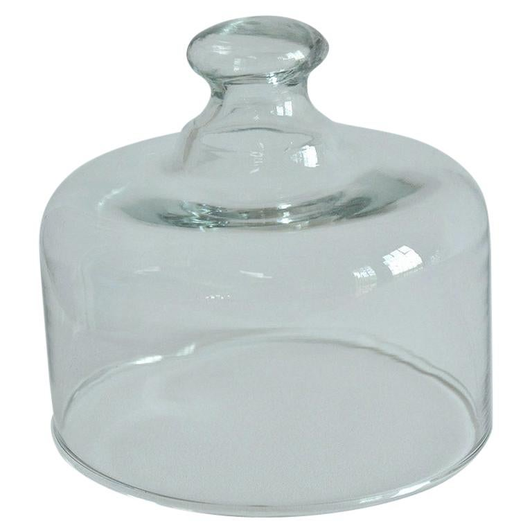 Leaded Glass Cheese Dome For Sale