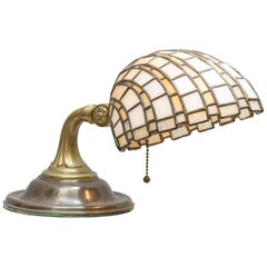 Leaded Glass Table Lamp, Duffner & Kimberly, circa 1910