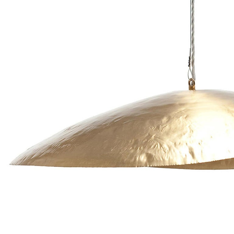 Suspension leaf gold medium all in matte